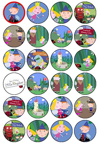 24-ben-hollys-little-kingdom-edible-wafer-paper-cup-cake-toppers