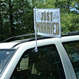 Amscan International Just Married Auto Flagge