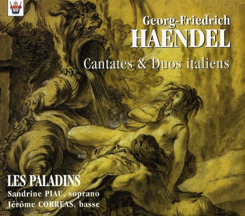 Haendel - Cantates & Duos italiens / Piau · Corréas · Häim · Middenway · Les Paladins