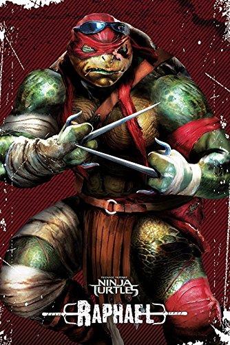Teenage Mutant Ninja Turtles–Raphael–61x 91,5cm (Ninja 2017 Turtle Raphael)