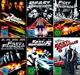 The Fast and the Furious 1 + 2 + 3 + 4 + 5 + 6 Collection (6-DVD)