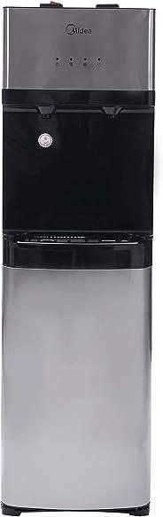 Midea YL1630S Bottom Loading water dispenser 2 Tap Silver Black