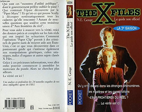 THE X FILES. Le guide non officiel, la 3ème saison par Ngaire-E Genge