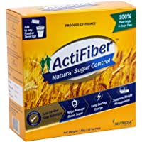 ActiFiber Natural Sugar Control - Diabetes Food Supplement For Diabetic Diet | Soluble Dietary Fiber Nutrition Based…