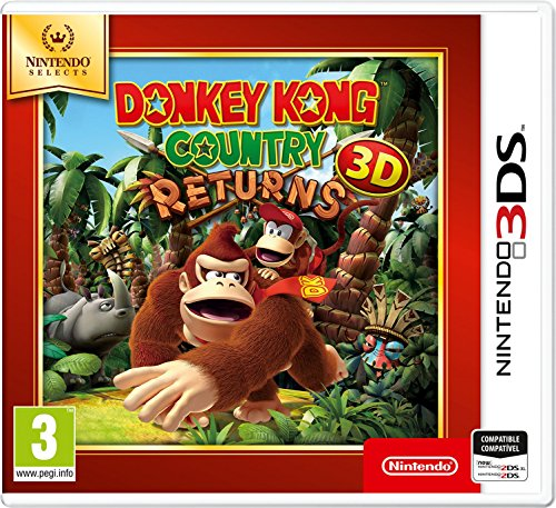 Donkey Kong Country Returns 3D SELECTS (precio: 17,99€)
