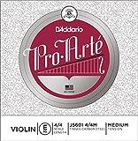 D\'Addario J5601-4/4M Pro Arte Set de cordes Violon E 4/4 Medium (328mm)