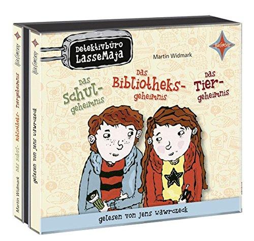 Detektivbüro LasseMaja Box - Das Schulgeheimnis/ Das Bibliotheksgeheimnis/ Das Tiergeheimnis: Sprecher: Jens Wawrczeck. 3 CD. Laufzeit ca. 135 Min.: Alle Infos bei Amazon