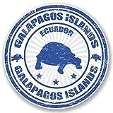 2x Galapagos-Inseln Ecuador Vinyl Aufkleber Aufkleber Laptop Reise Gepäck Auto Ipad Schild Fun # 4439 - 10cm/100mm Wide
