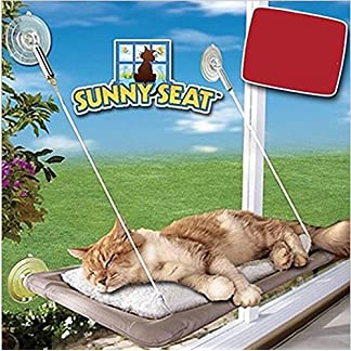 Cat Hammock Bed Cat Perch Cushion Window Hanging Cat Bed With Suction Cups Sunny Seat Comfortable Durable 61oYX v7foL