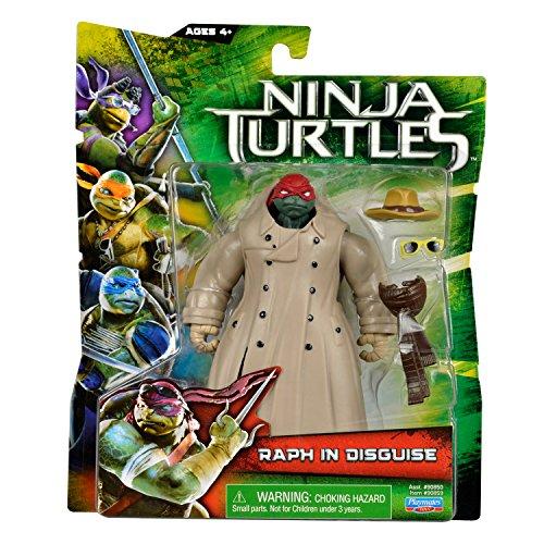 Teenage Mutant Ninja Turtles Movie 2014 Basic Action Figure: Raphael In Disguise
