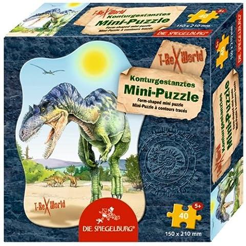 Spiegelburg 21663 Minipuzzle Ceratosaurus T-Rex World (40 Teile)