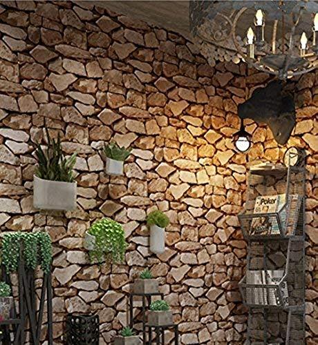 3d carta da parati moderna murali muro decorazione da muro per cucina bagno soggiorno salone ufficio tv sfondo (carta da parati pietra)