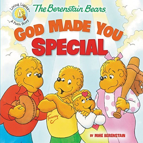 The Berenstain Bears God Made You Special (Berenstain Bears/Living Lights) by Berenstain, Mike (2014) Paperback
