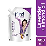 Vivel Body Wash, Lavender and Almond Oil, 400 ml