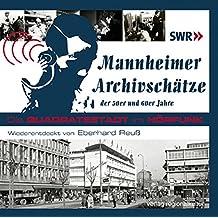 Mannheimer Archivschätze der 50er und 60er Jahre, Audio-CD