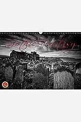 Gothic Fantasy (Wandkalender 2019 DIN A3 quer): Vergessene und unheimliche Orte im Gothic Stil - Monochrom (Monatskalender, 14 Seiten ) (CALVENDO Orte) Kalender