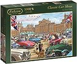 Falcon Games Classic Car Show Jigsaw Puzzle (1000-Piece, Multi-Colour)