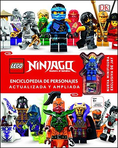 LEGO® Ninjago Enciclopedia de personajes actualizada y ampliada: Incluye una Minifigura exclusiva de Jay por Varios autores
