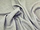 Leinenoptik Polyester Crepe Soft passend Kleid Stoff Salbei Grün–Meterware + Frei Minerva Crafts Craft Guide