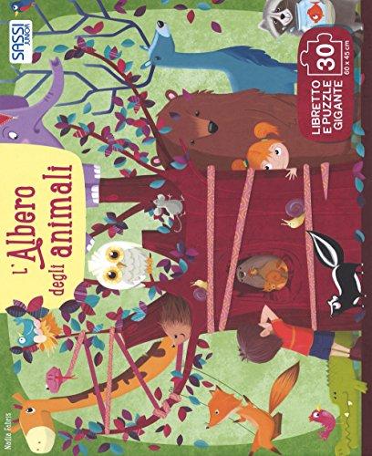 L'albero degli animali. Ediz. a colori. Con puzzle