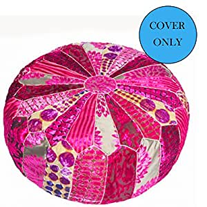 Floor Cushion Cover (Patch Rosa)