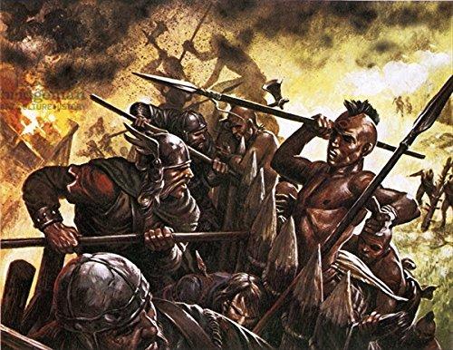 poster-bild-30-x-20-cm-leif-ericssons-men-being-attacked-by-indians-bild-auf-poster