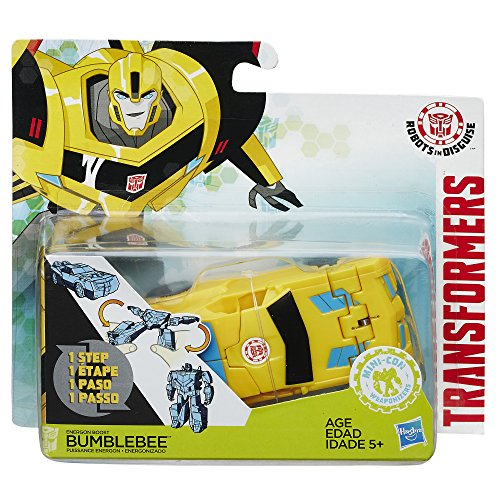 Hasbro Transformers B7020ES0 - Robots In Disguise 1-Step Changer Energon Boost Bumblebee, Actionfigur