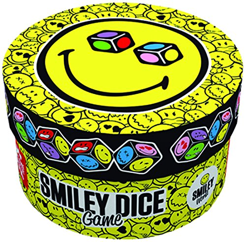 GAMEFACTORY-76135-Smiley-Dice-Game-gelb