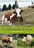 Schwarzwald und Kühe im Hochformat (Tischkalender 2018 DIN A5 hoch): Der Schwarzwald, die Heimat der Hinterwälder Kühe. (Monatskalender, 14 Seiten ) ... Goldscheider, Stefanie und Biothemen, k.A. - Stefanie Goldscheider, k.A. Biothemen