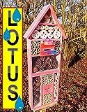 Large Glazed Red Bird House Nesting Box with...
