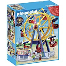 Playmobil Parque de Atracciones - Noria con luces, playset (5552)