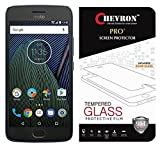 #9: Chevron Moto G5 Plus Tempered Glass