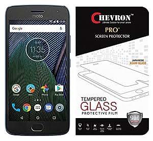 Chevron Moto G5 Plus Premium Tempered Glass Screen Protector Cover