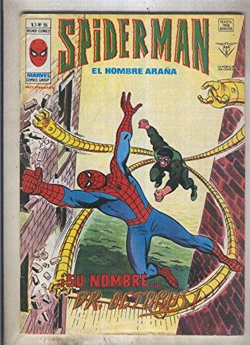 Spiderman volumen 3 numero 55 (numerado 1 en trasera)