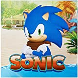 Sonic Boom Party Supplies - Lunch Napkins by BirthdayExpress