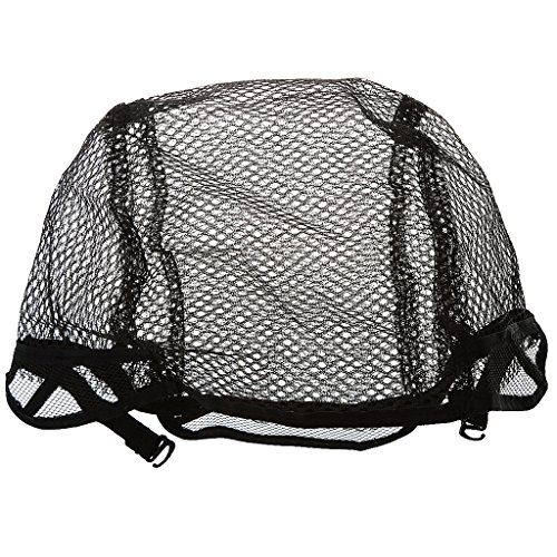 Imported Hair Wig Weaving Cap Snood Net Stretch Mesh Liner Breathable Black  available at amazon for Rs.150