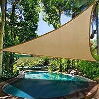 Kitabetty Carpa de Picnic para Acampar al Aire Libre, Toldo al Aire Libre Carpa de Picnic para Acampar Triángulo Protección Solar Pabellón de jardín Patio Piscina Sombra Tienda de Vela