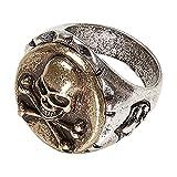 Widmann SLR Ring mit Totenkopf und gekreuzten Knochen