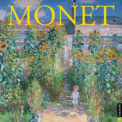 Monet 2018 Wall Calendar