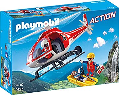 Playmobil 9127 - Bergretter-Helikopter von geobra Brandstätter Stiftung & Co. KG, de toys, GEOVR