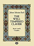 J.S. Bach: The Well-Tempered Clavier (Dover Music for Piano)