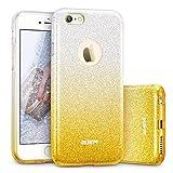 ESR Coque pour iPhone 6s/6, Coque Silicone Paillette Strass Brillante Glitter de...