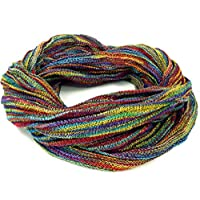 Guru-Shop, Soft Loop Scarf/Stole, Magic Loop Scarf, Vest, Colorful, Synthetic, Size:One Size, Shawls