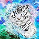 mxjeeio Diamond Malerei Huijun 5D DIY Diamant Stickerei Painting Mosaik Set Kreuz Kunsthandwerk Stich Heim Zimmer Decor-Wilder Tier