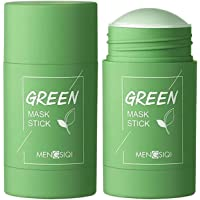 DIIIBARLORY Green Tea Purifying Clay Stick Mask, Face Moisturizes Oil Control - Deep Clean Pore, Improves Skin - for All…