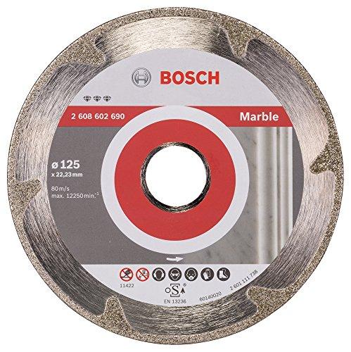 Preisvergleich Produktbild BOSCH Diamanttrennscheibe Best für Marble, 125 x 22,23 x 2,2 x 3 mm, 2608602690