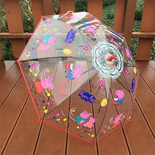 Kindergarten Kinder Sonnenschirme mit männlichen Kindern Baby Regenschirm Prinzessin Regenschirm weiblichen Sonnenschirm kreativen Regenschirm Baiyun Pepe Männer zufällig, Baiyun Pepe weibliche Model