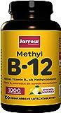 Methyl B12 1000 µg, aktives Vitamin B12 als Methylcobalamin, rosafarbene Lutschtabletten mit Zitronengeschmack, 500 µg…