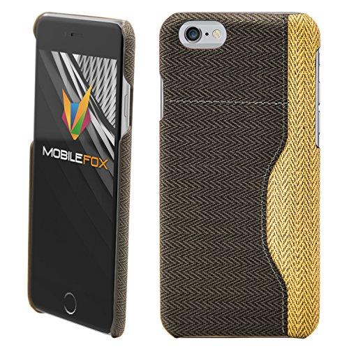 Mobile Fox Housse Coque Etui Housse Coque Case Back Cover Portefeuille Smartphone noir