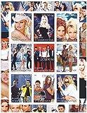 Stamp di Pamela Anderson per collezionisti - 9 francobolli mai incernierate - perfetto per filatelia - Stampbank - amazon.it